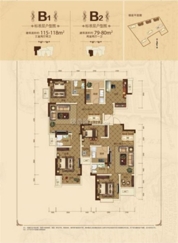 南湖红星国际广场楼盘户型图
