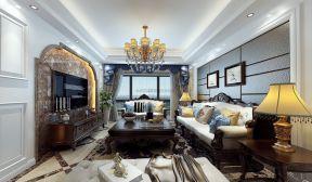 2018歐式古典風格客廳裝修圖 2018歐式古典風格客廳裝修