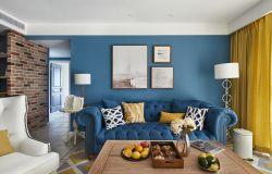 成都新房客廳顏色搭配裝修裝飾圖片