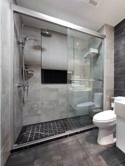 現代北歐風格112平三居衛浴間裝修設計圖片
