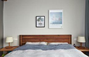 簡易實木床 家具實木床圖片
