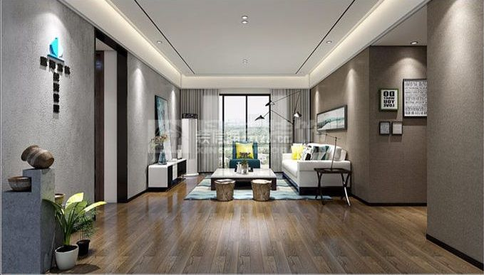 现代简约客厅装修效果图欣赏 现代简约客厅效果图