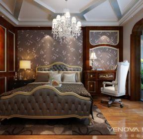 西宁夏都府邸新古典卧室-每日推荐