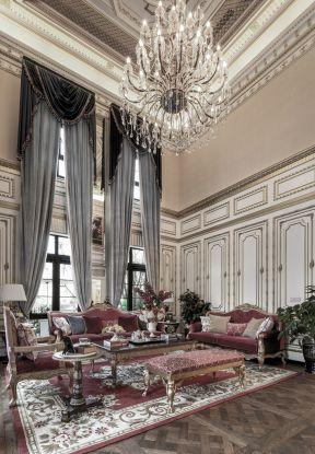 巴洛克風格裝修設計 巴洛克客廳裝修圖