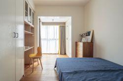 簡約北歐風格128平三房臥室設計圖片