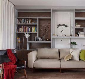 2018簡約客廳沙發設計 2018簡約客廳沙發裝飾圖