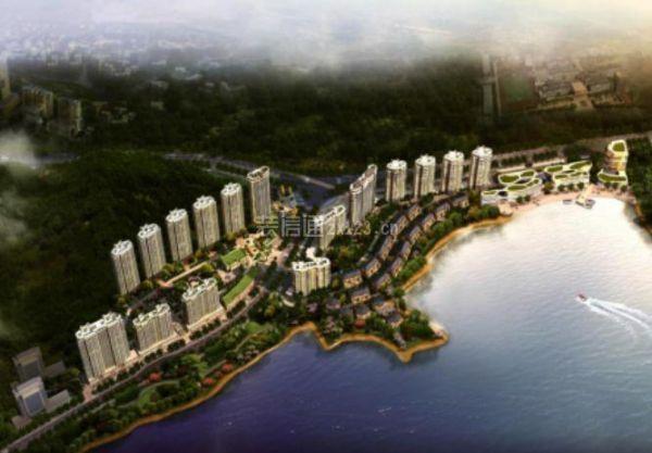 杭州千岛湖嘉苑楼盘装修案例 一线湖景景观