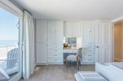 北歐風格海景別墅臥室梳妝臺設計圖片