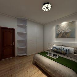簡約北歐風格60平二居臥室衣柜家裝效果圖