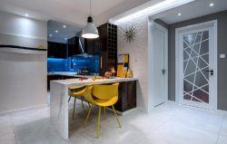 溫馨新房室內小吧臺吊燈裝修設計圖