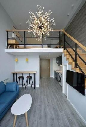loft公寓室内装修设计图 2018创意灯具设计图片 loft公寓户型效果图