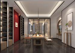 新中式風格1300平米別墅茶室裝修效果圖