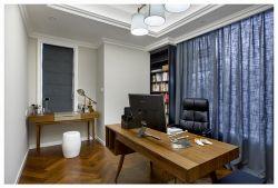 225平米四居書房窗簾搭配設計圖片