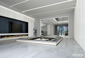 下沉式客厅设计 下沉式客厅装修效果图图片