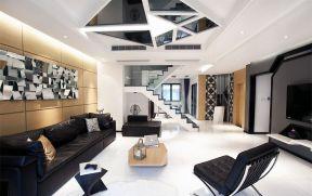 后現代客廳家裝效果圖 2018后現代客廳裝修風格