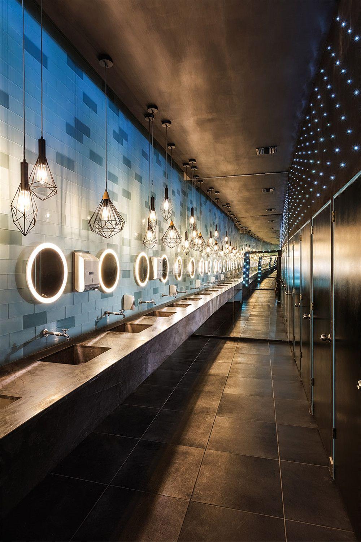 现代风格500平米夜店卫生间设计图片
