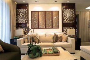 新中式復式客廳裝修 新中式復式客廳效果圖