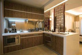2018新中式廚房裝修 新中式廚房圖