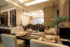 2018新中式風格餐廳效果圖 2018新中式風格餐廳裝修圖片