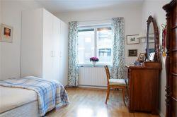 小北歐風格130平三居室臥室梳妝臺裝飾圖片