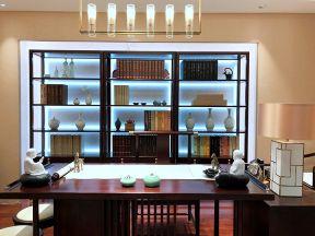 新中式書房設計效果圖 新中式書房裝修圖片