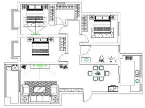 2018三居室平面設計圖片 2018三居室平面設計圖