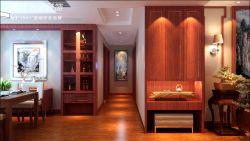 150平中式風格室內實木地板裝修圖片