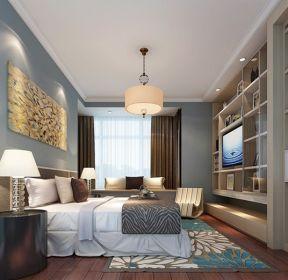 90平方家庭主卧室电视柜装修设计效果图-每日推荐