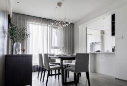 170平米大戶型餐廳吊燈裝修設計賞析