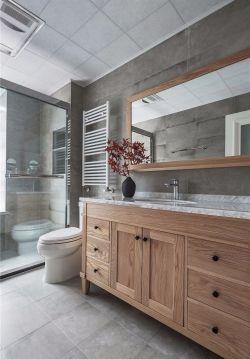 134平米簡約北歐三居室衛生間洗手臺裝修圖片