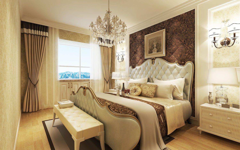 简约风格家庭主卧室装修效果图大全2018图片