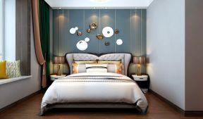 主臥室背景墻裝修效果圖 臥室背景墻設計圖片