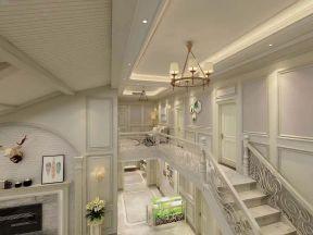 2018別墅樓梯裝修設計效果圖片 2018別墅樓梯裝飾裝修效果圖片