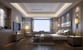 新中式別墅臥室設計 2018新中式別墅臥室效果圖