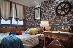 東源長島125㎡歐式三居室兒童房裝修效果圖