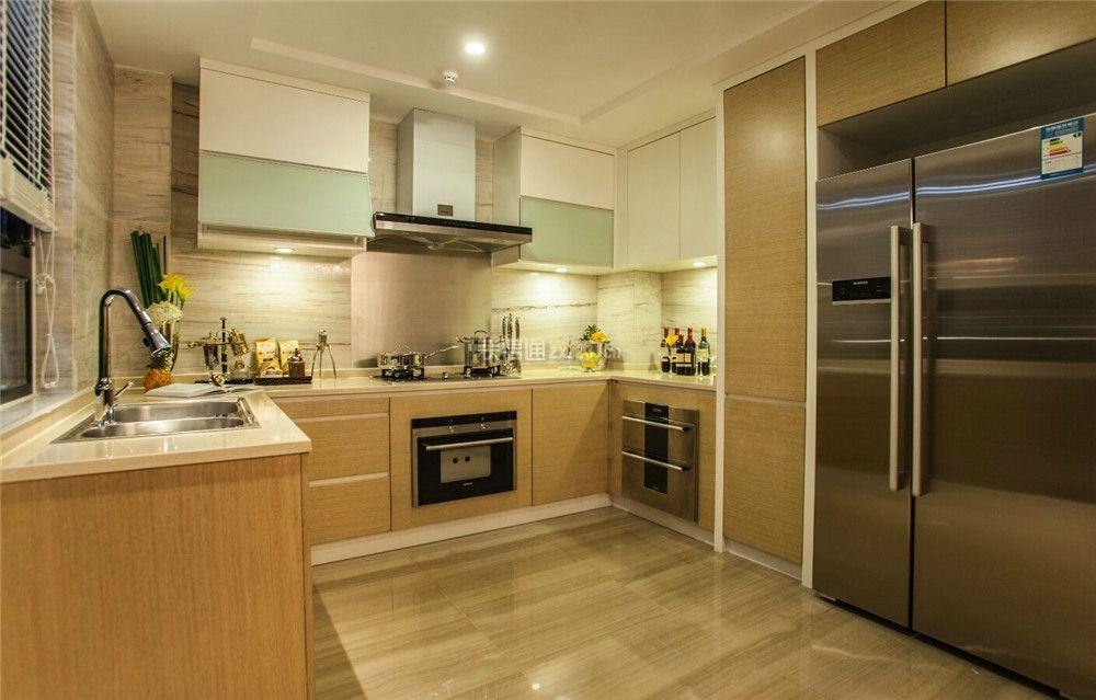 后现代风格家庭厨房装修设计图片