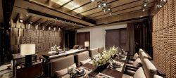 2018大戶型中式風格家庭餐廳裝潢圖片