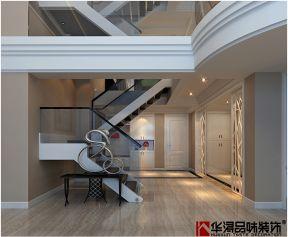 樓梯玻璃扶手圖片 樓梯玻璃欄桿圖片