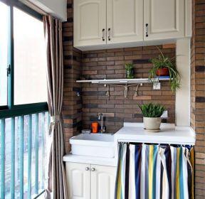 2020生活阳台洗衣台装修图片-每日推荐