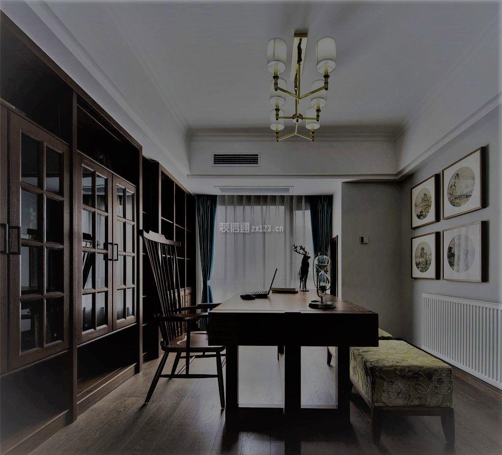 新中式茉莉300平别墅别墅设计图片1v茉莉厦门号旅馆书房莱茵风格图片