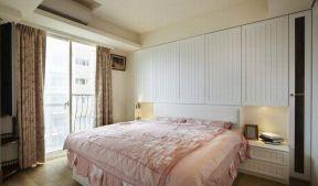 2018卧室床头柜装修效果图 2018卧室床头柜子设计图片