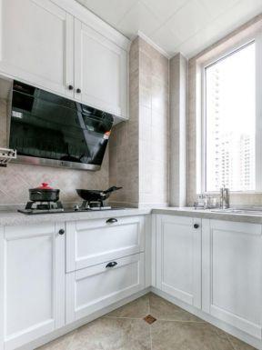现代美式厨房装修效果图 2018现代美式厨房装修