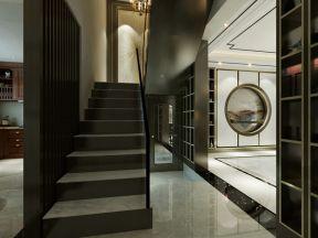 新中式樓梯裝修效果圖 新中式樓梯設計圖片