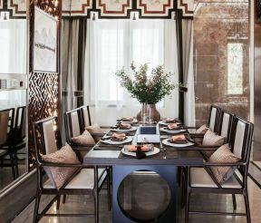 2018中式風格餐廳效果圖 中式餐廳裝飾 時尚中式餐廳設計