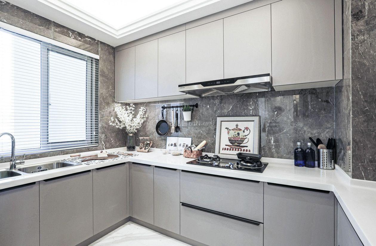新房子家庭厨房整体橱柜装修设计赏析