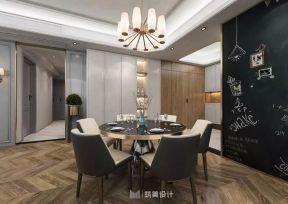 餐廳木地板裝修效果圖 2018餐廳木地板裝修圖片