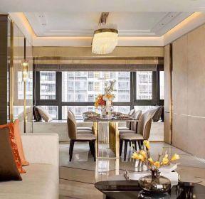 現代港式風格90平米小戶型餐廳裝修圖片-每日推薦