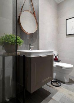 149平米房子衛生間洗手臺鏡子裝修