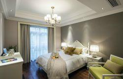 123平米四室兩廳美式風格臥室裝修圖片大全