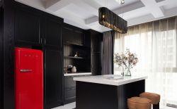 180平米現代美式新房開放式廚房設計圖片